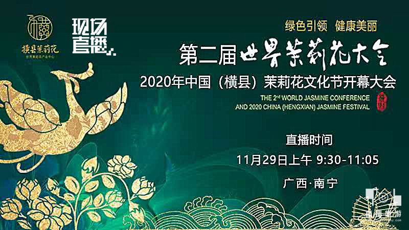 第二届世界茉莉花大会 、2020年中国(横县)茉莉花文化节开幕大会