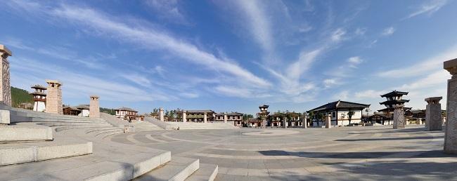 <span>诸葛亮文化旅游区——广场全貌</span>